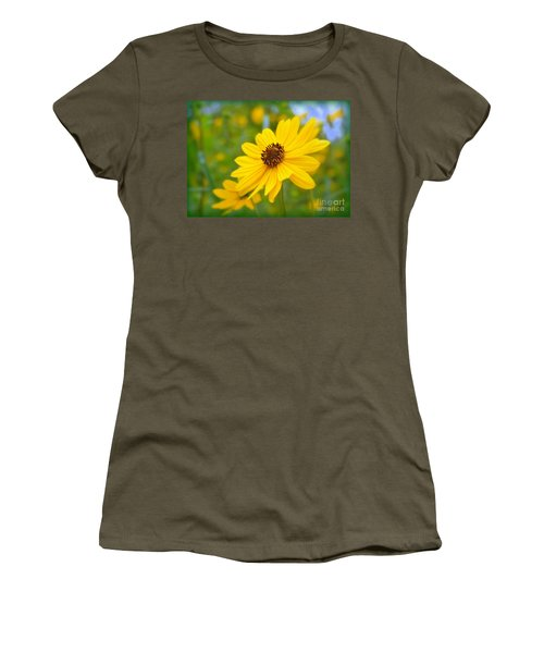 Helianthus Women's T-Shirt (Athletic Fit)