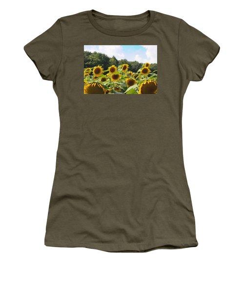 Helianthus Patch 4 Women's T-Shirt