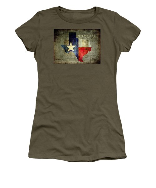 Hello Texas Women's T-Shirt (Athletic Fit)