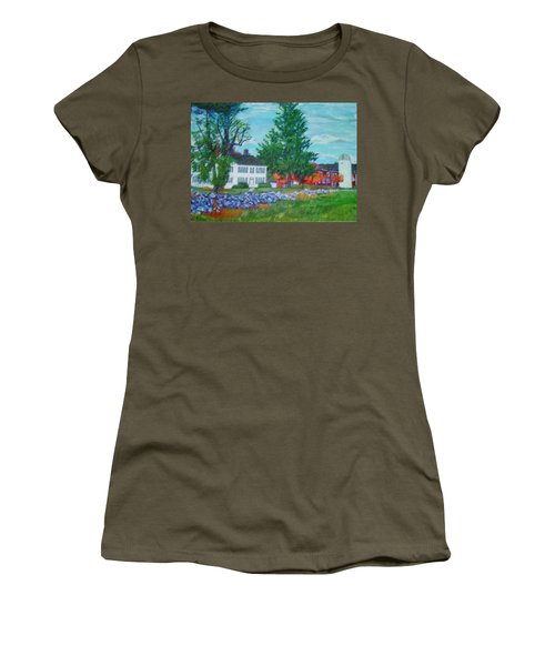 Henry Warren House And Barn Women's T-Shirt (Athletic Fit)