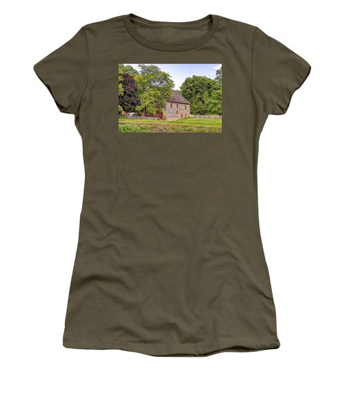 Women's T-Shirt (Junior Cut) featuring the photograph Herr's Mill by Jim Thompson