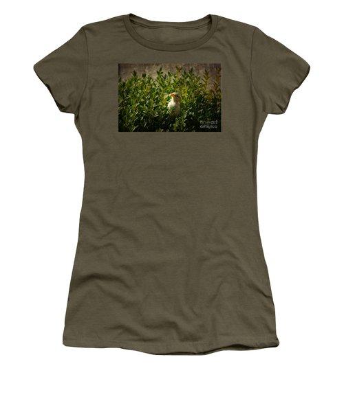 Women's T-Shirt (Junior Cut) featuring the photograph Hide And Seek by Mariola Bitner