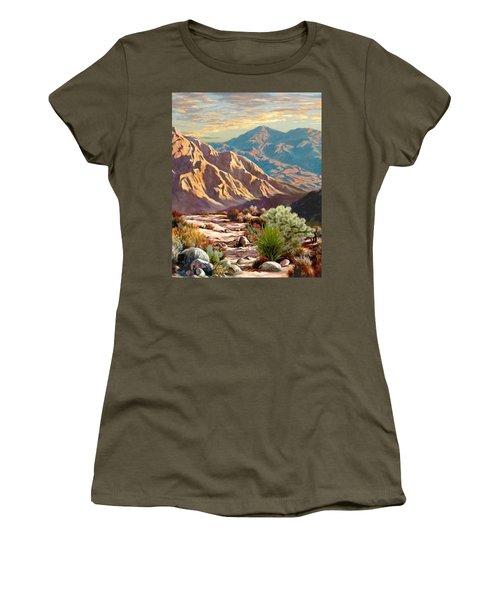 High Desert Wash Portrait Women's T-Shirt (Junior Cut) by Ron Chambers