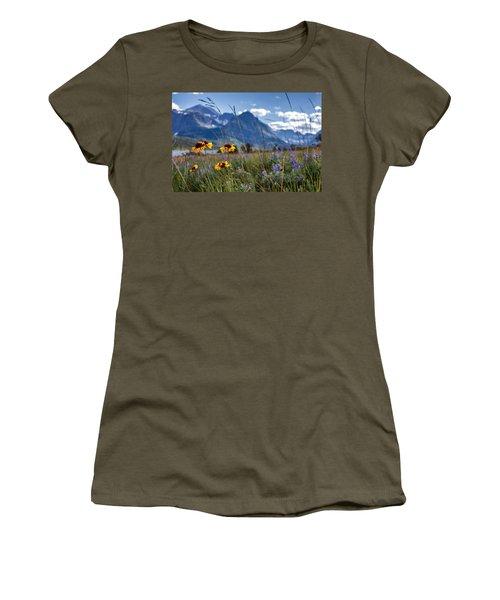 High Plains Women's T-Shirt (Junior Cut) by Aaron Aldrich