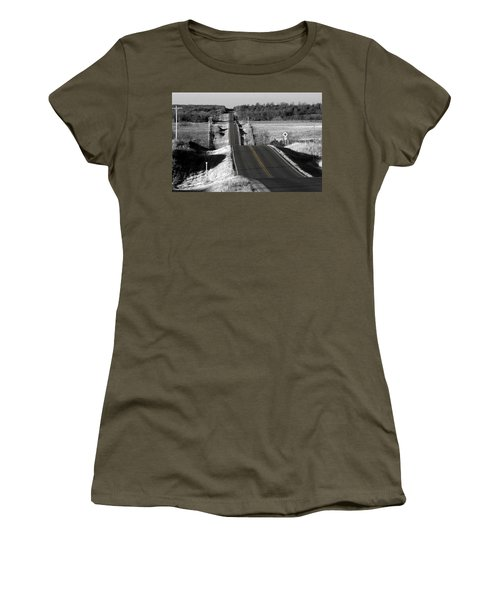 Hilly Ride Women's T-Shirt