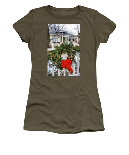 Holiday In The Neighborhood Women's T-Shirt (Athletic Fit)