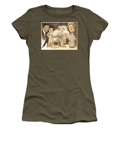 Hollywoods Golden Era Women's T-Shirt (Athletic Fit)