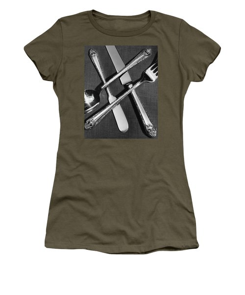 Holmes And Edwards Collection Silverware Women's T-Shirt