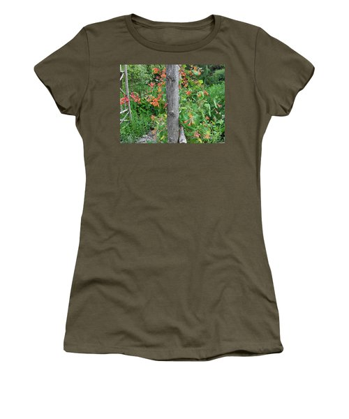 Honeysuckle's Friend Women's T-Shirt (Junior Cut) by Brenda Brown
