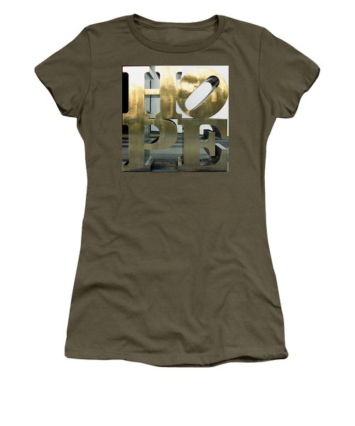 Women's T-Shirt (Junior Cut) featuring the photograph Hope Squared by Greg Allore