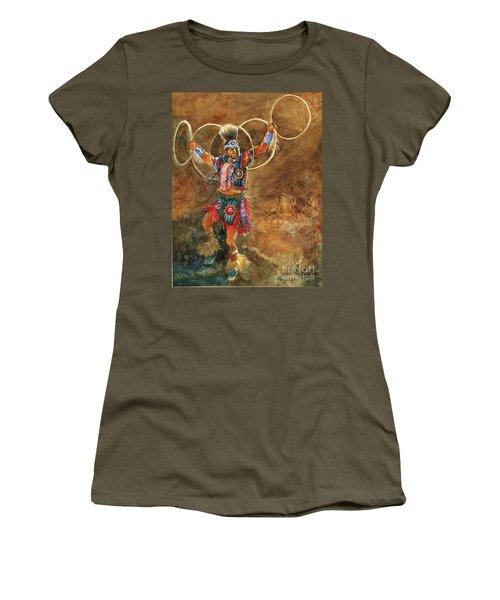 Hopi Hoop Dancer Women's T-Shirt
