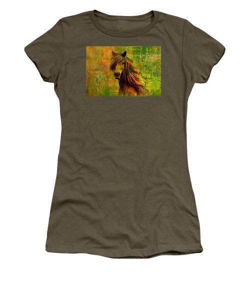 Horse Paintings 001 Women's T-Shirt