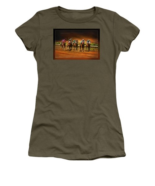 Horse's 7 At The End Women's T-Shirt (Athletic Fit)