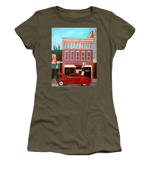 Hot Coffee Women's T-Shirt (Athletic Fit)