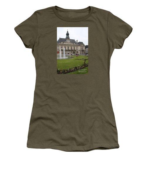 Hotel De Ville - Tours Women's T-Shirt (Junior Cut) by Christiane Schulze Art And Photography