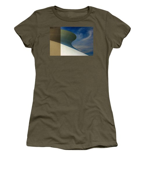 Hourglass Dome Cloud Swirl Women's T-Shirt
