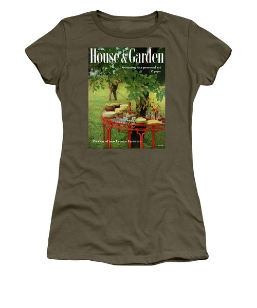 House And Garden Cover Women's T-Shirt