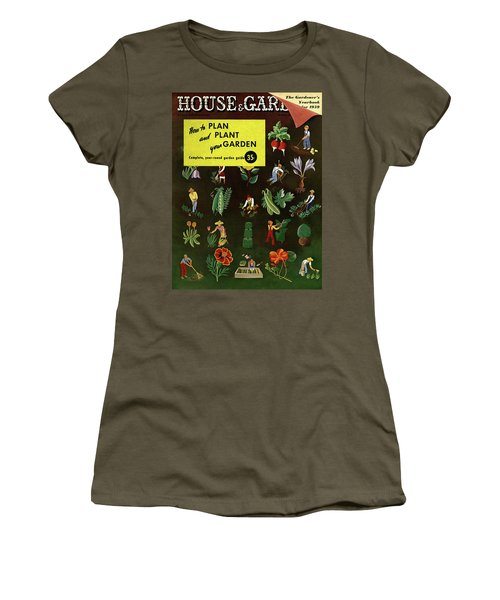 House And Garden How To Plan And Plant Women's T-Shirt
