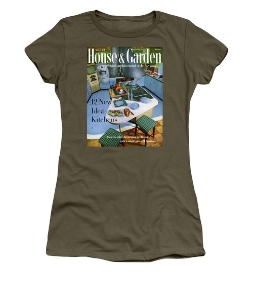 House And Garden Kitchen Ideas Issue Women's T-Shirt