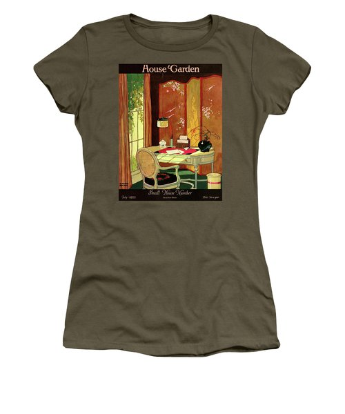 House And Garden Small House Number Women's T-Shirt