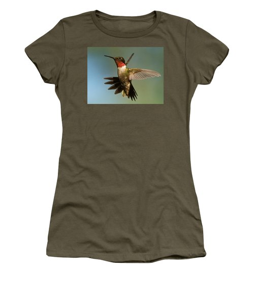 Hummingbird Beauty Women's T-Shirt (Athletic Fit)