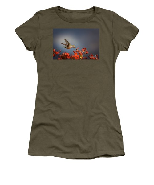 Hummingbird Or My Summer Visitor Women's T-Shirt