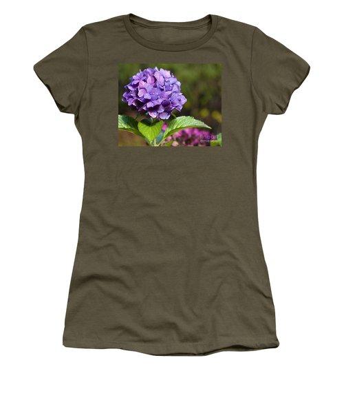 Hydrangea Women's T-Shirt (Junior Cut) by Belinda Greb