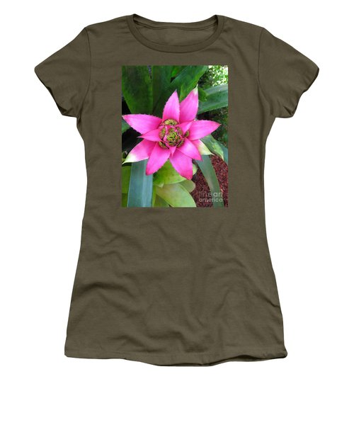 Pink And Beautiful  Women's T-Shirt (Athletic Fit)