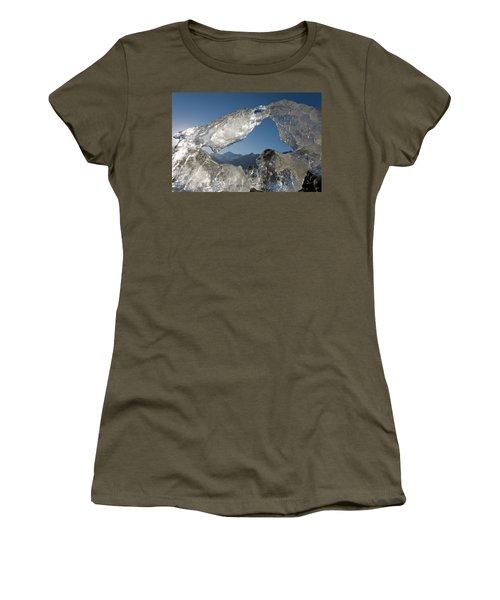 Iceberg At Sunset, Glacier Bay National Women's T-Shirt