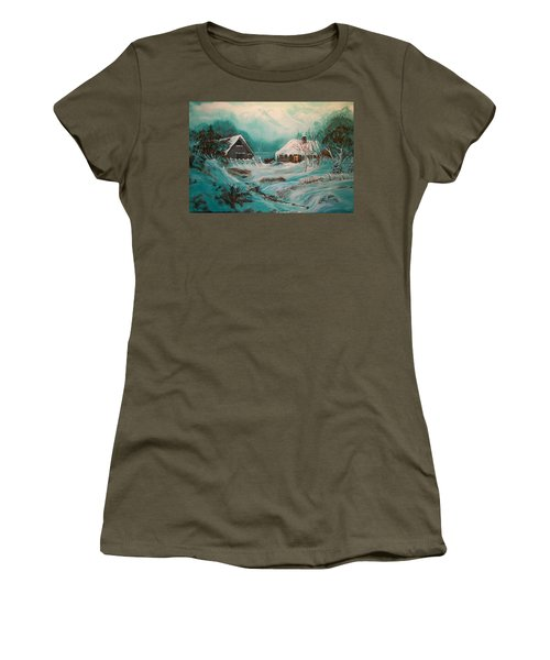 Icy Twilight Women's T-Shirt