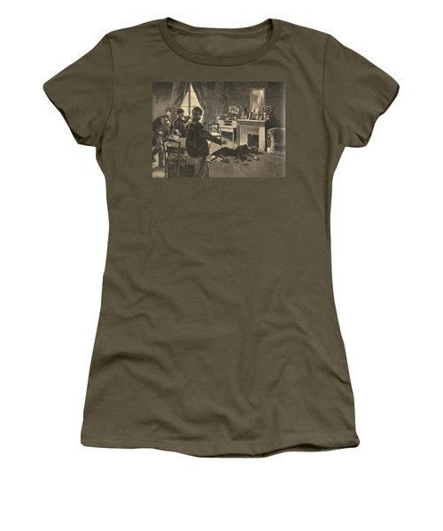 Illustration From Le Petit Journal Women's T-Shirt