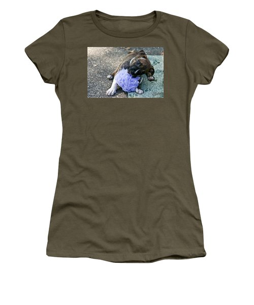 Imma Git U    Pit Bull Pup Women's T-Shirt