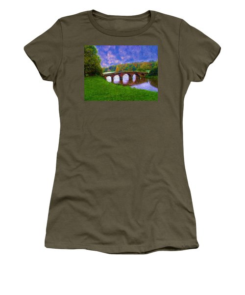 Impressions Of Stourhead Women's T-Shirt (Athletic Fit)