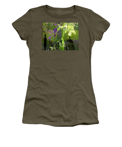 Women's T-Shirt (Junior Cut) featuring the digital art In A Dream by Cathy Anderson