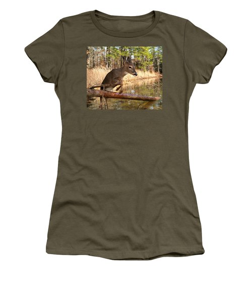 In A Flash Women's T-Shirt (Junior Cut) by Bill Stephens