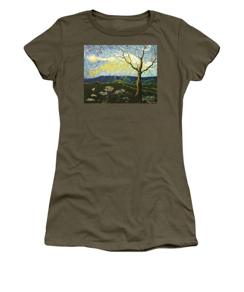 In Between A Rock And A Heaven Place Women's T-Shirt