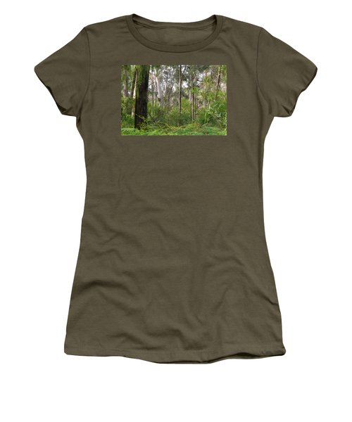 Women's T-Shirt (Junior Cut) featuring the photograph In The Bush by Evelyn Tambour