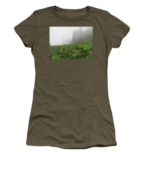 Women's T-Shirt (Junior Cut) featuring the photograph In The Mist - 1 by Pema Hou