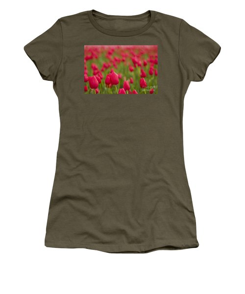 Seeing Red Women's T-Shirt (Athletic Fit)
