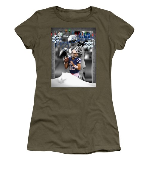Indianapolis Colts Christmas Card Women's T-Shirt