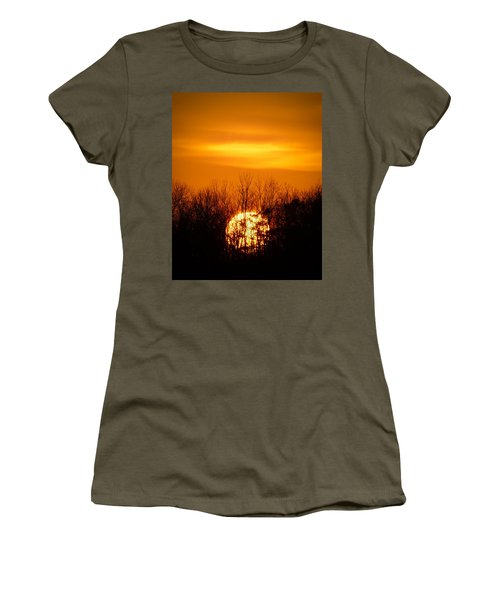 Inferno In The Trees Women's T-Shirt