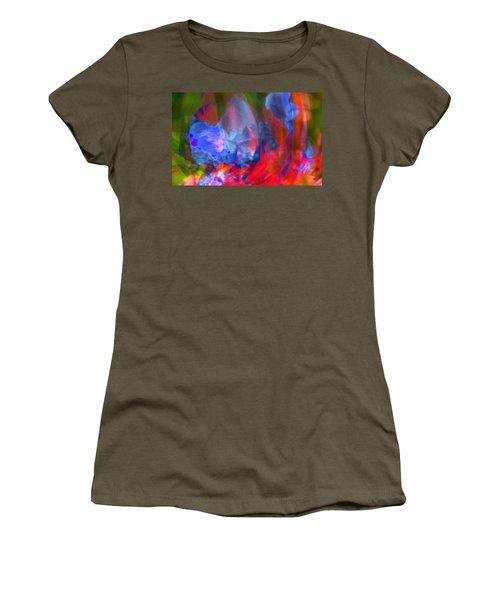 Women's T-Shirt (Junior Cut) featuring the digital art Interior by Richard Thomas
