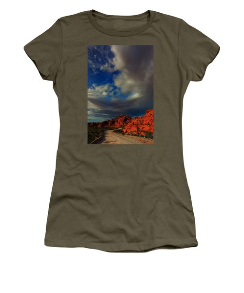 Into The Valley Of Fire Women's T-Shirt
