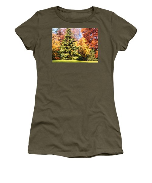 Into The Woods Women's T-Shirt (Athletic Fit)