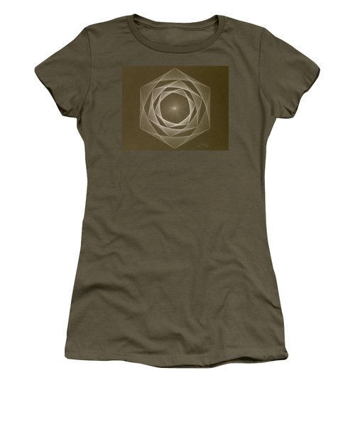 Inverted Energy Spiral Women's T-Shirt