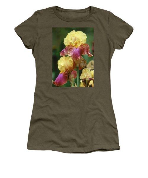 Iris 1 Women's T-Shirt (Junior Cut) by Andy Shomock