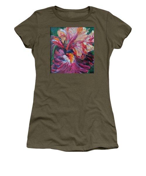 Iris - Bold Impressionist Painting Women's T-Shirt