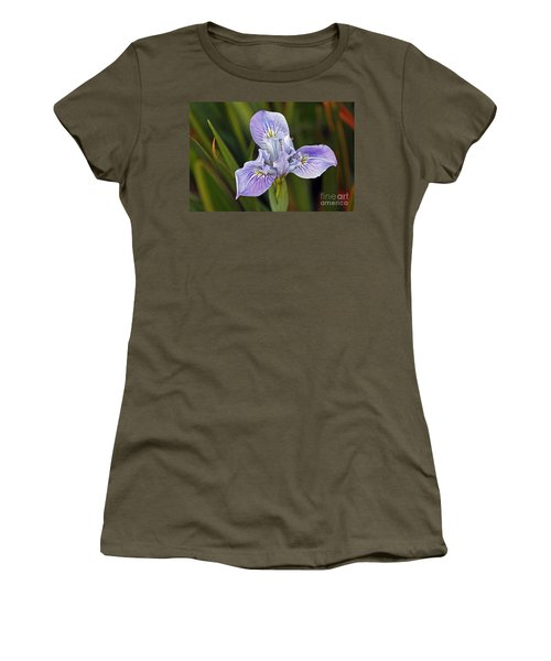 Women's T-Shirt featuring the photograph Iris by Kate Brown