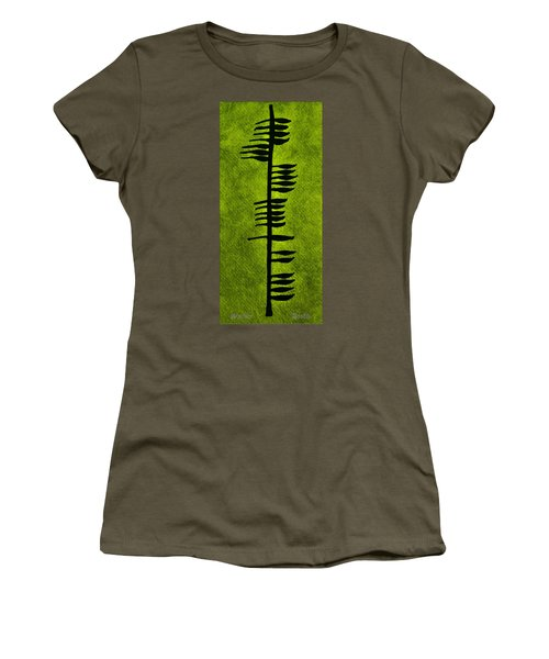 Irish Ogham Meaning Health Women's T-Shirt (Athletic Fit)