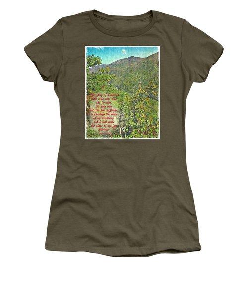Isaiah 60 13 Women's T-Shirt